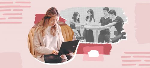 how to network online while studying from home networking online sfh
